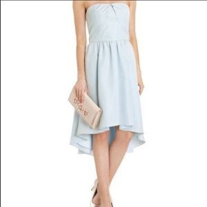 Dresses & Skirts - Ted Baker Verity Blue hi low dress in powder blue